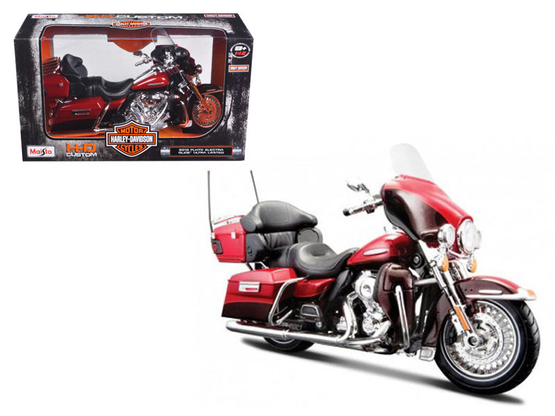 2013 Harley Davidson FLHTK Electra Glide Ultra Limited Motorcycle 1:12 Scale - Maisto - 32323