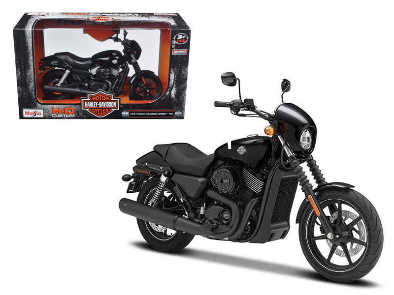 2015 Harley Davidson Street 750 Motorcycle Model 1:12 Scale - Maisto - 32333