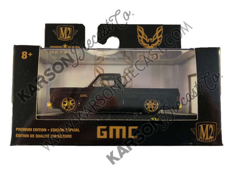 1976 GMC Custom Trans Am w/ Hood Birds Gloss Black 1/64 Diecast Model Cars - M2 Machines - 32500-S74 - M2 CHASE