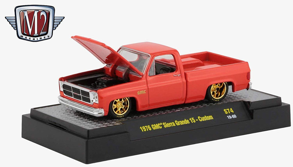 1976 GMC Custom Trans Am w/ Hood Birds Carousel Red 1/64 Diecast Model Cars - M2 Machines - 32500-S74
