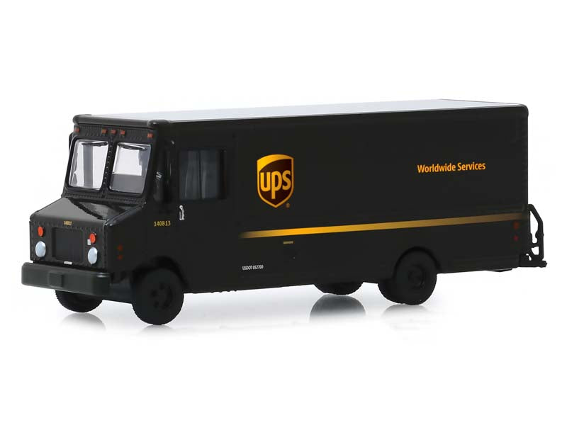 "2019 Package Car ""UPS"" (United Parcel Service) ""H.D. Trucks"" Series 17 1/64 Diecast Model - Greenlight - 33170C"