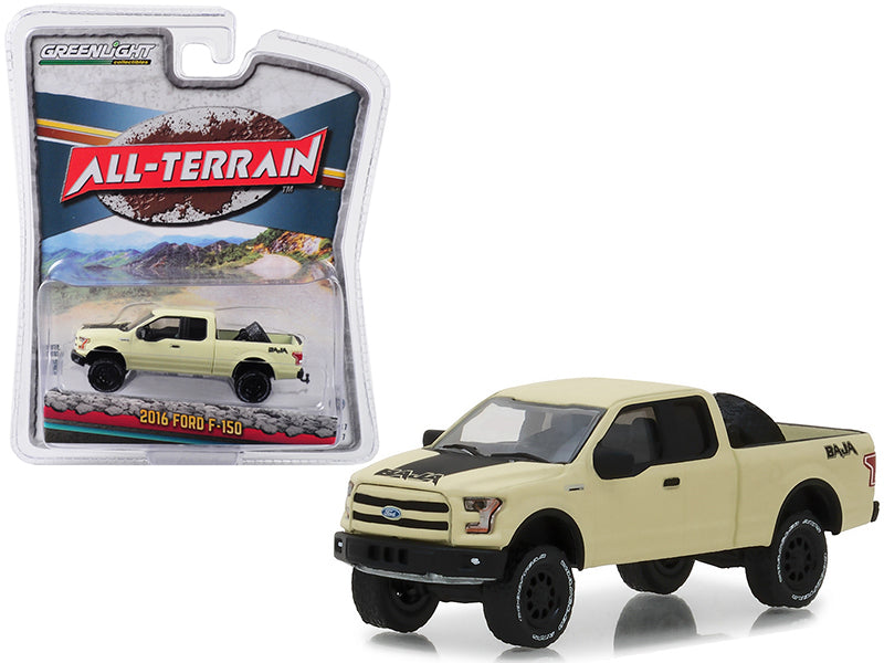 2016 Ford F-150 Baja Pickup All Terrain Series 7 - 1:64 Diecast Model Truck -  Greenlight - 35110E