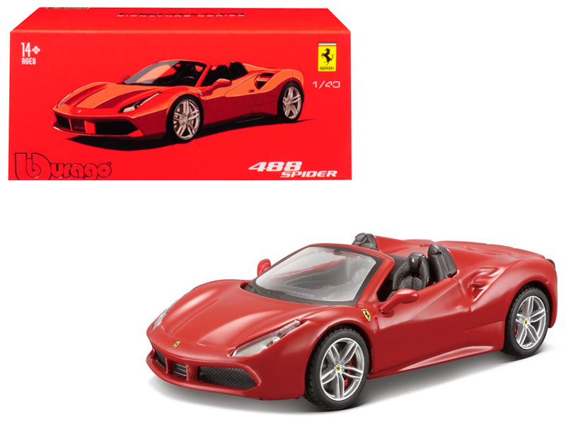 Ferrari 488 Spider Signature Series 1:43 Model - Bburago - 36905RD