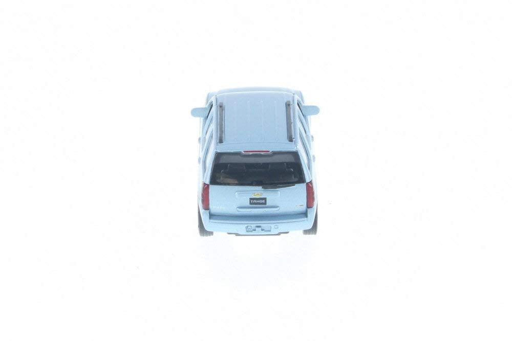 "2008 Chevy Tahoe Light Blue 4.5"" Diecast Model"