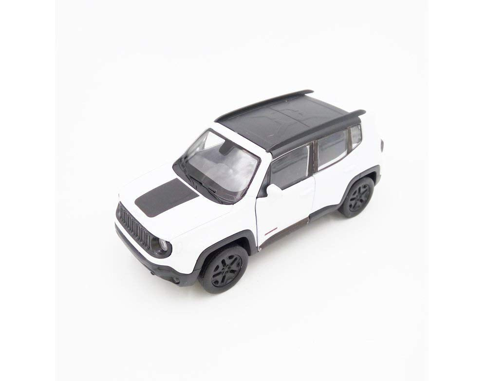 "2017 Jeep Renegade Trailhawk White 5"" Diecast Model  *"