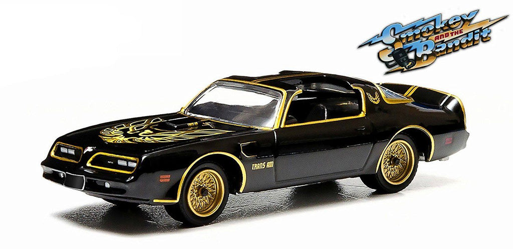 "1977 Pontiac Trans Am ""Smokey and the Bandit"" 1:64 Model - Greenlight - 44710A"