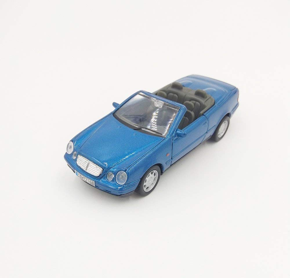 Mercedes Benz CLK 230 Convertible Blue 1:32 Diecast Model - Welly - 49745BL