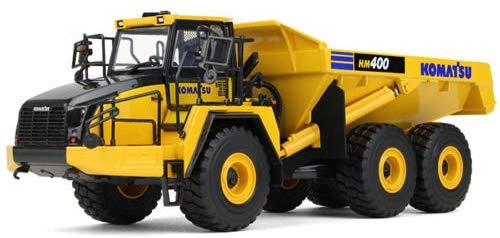 Komatsu HM400-5 Articulated Dump Truck 1/50 Diecast Model - First Gear - 50-3347