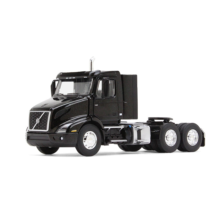 Volvo VNR 300 Day-Cab 1:50 Scale Diecast Model Sable Black Metallic - First Gear 50-3363