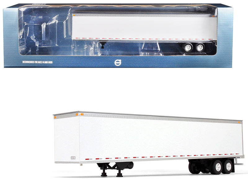 53' Trailer White 1/50 Diecast Model - First Gear - 50-3374