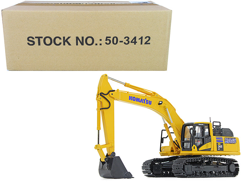 Komatsu HB365LC-3 Hybrid Excavator 1/50 Scale Diecast Model - First Gear - 50-3412