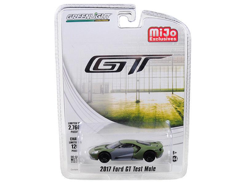 2017 Ford GT Test Mule Limited Edition 1:64 Model - Greenlight - 51143