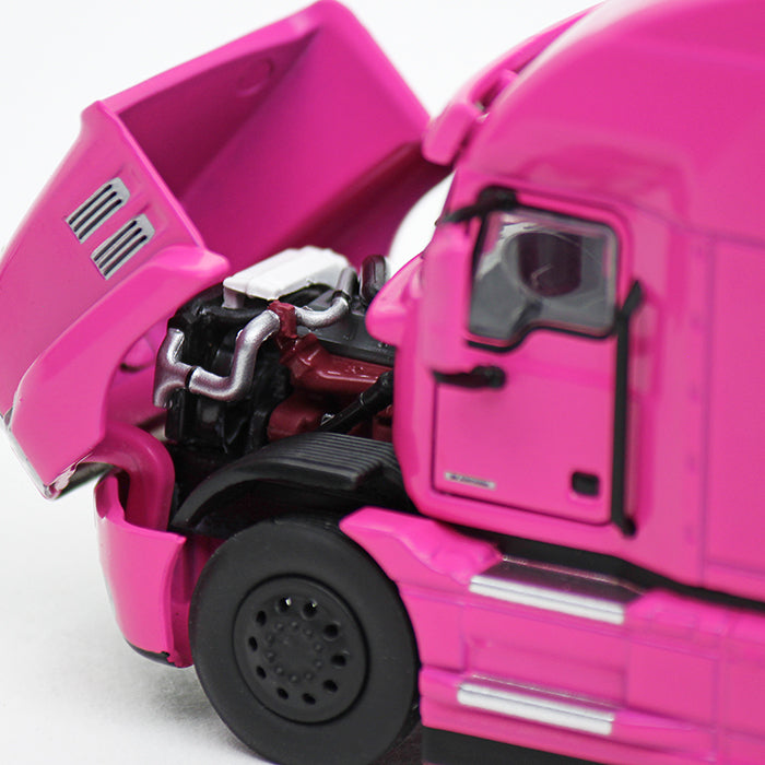 "Mack Anthem ""Pink Lady"" High Roof Sleeper w/ 53' Trailer 1/50 Scale Diecast Model - First Gear - 59-3423"