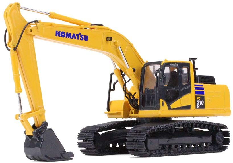 Komatsu PC210LC-11 Excavator 1/64 Scale Diecast Model - First Gear - 60-0326