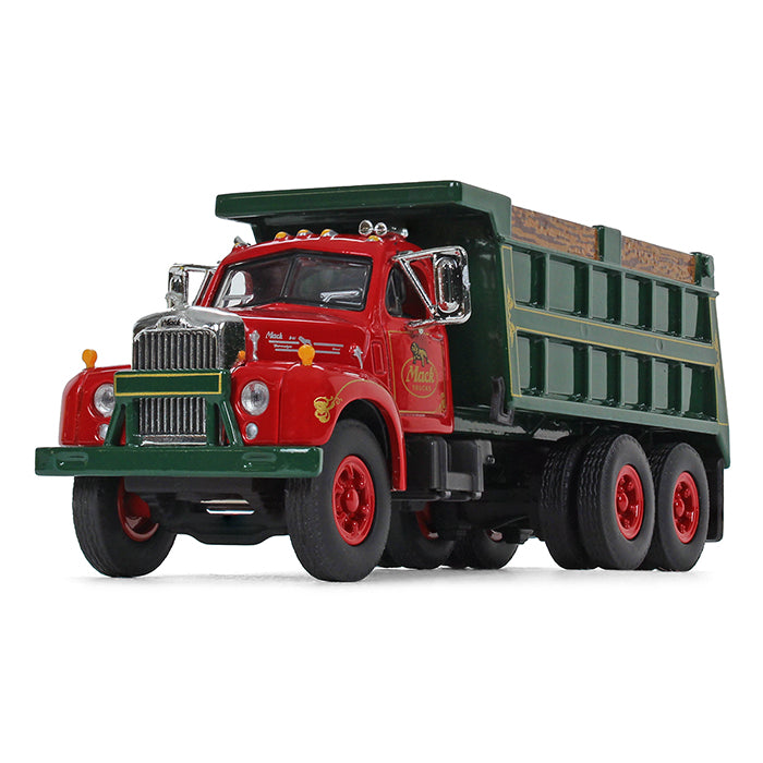 Mack B-61 Dump Truck 1/64 Scale Diecast Model - First Gear - 60-0404