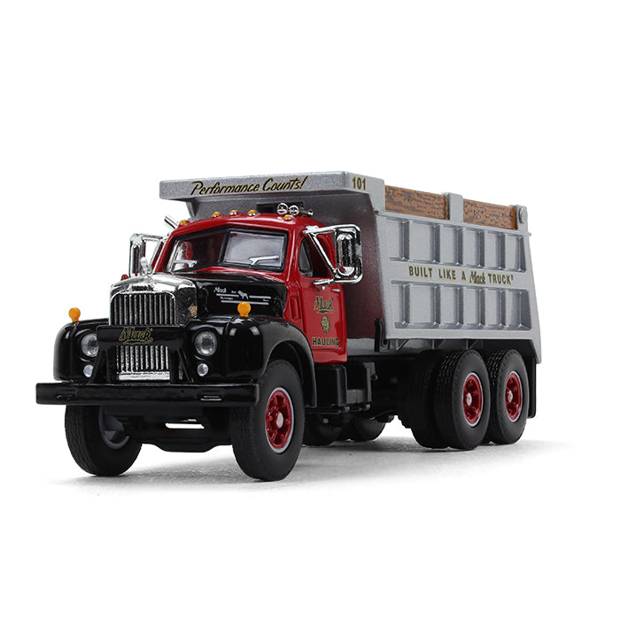 Mack B-61 Dump Truck 1/64 Scale Diecast Model - First Gear - 60-0433