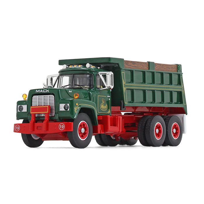 Mack R Dump Truck	1:64 Scale Diecast Model - First Grear 60-0544