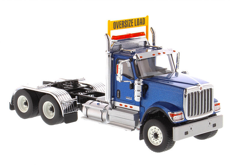 International HX520 Day Cab Tandem Tractor Blue 1:50 Scale Model - Diecast Masters - 71004