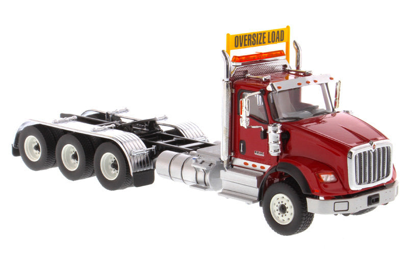 International HX620 Day Cab Tridem Tractor Red 1:50 Scale Model - Diecast Masters - 71008