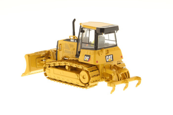 "Caterpillar CAT D6K XL Track-Type Dozer w/ Operator ""High Line Series"" 1:50 Scale Model - Diecast Masters - 85192"