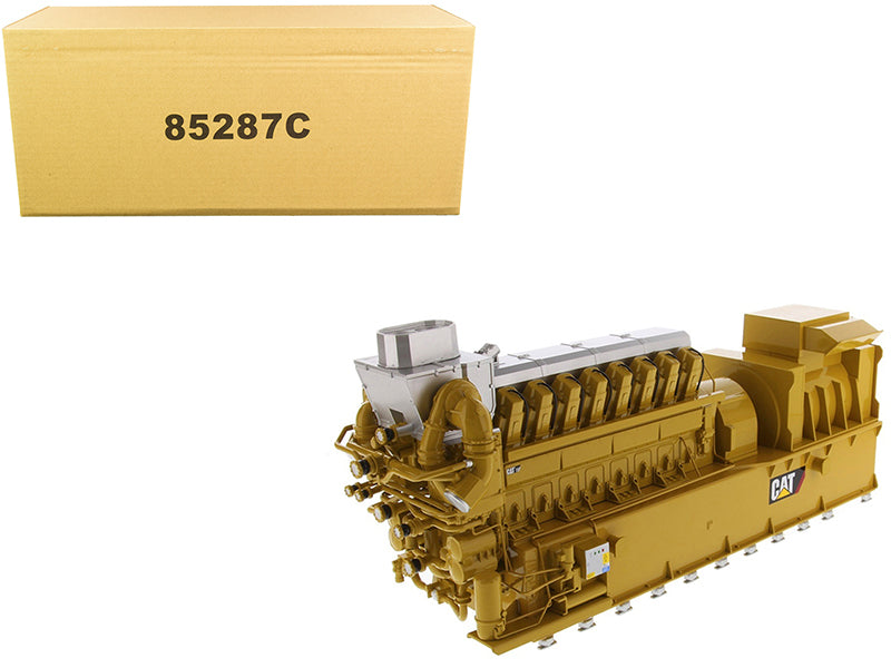 "CAT Caterpillar CG260-16 Gas Engine Generator ""Core Classic Series"" 1:25 Diecast Model - Diecast Masters - 85287C"
