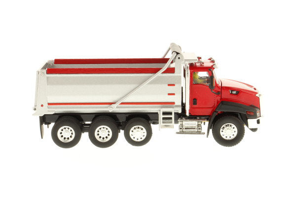 "Caterpillar CAT CT660 Dump Truck Red w/ Operator ""Core Classics Series"" 1:50 Scale Model - Diecast Masters - 85502C"