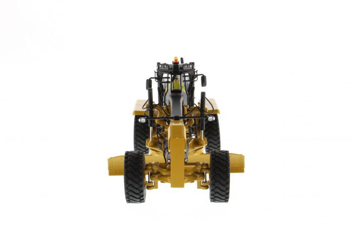 "Caterpillar CAT 16M3 Motor Grader w/ Operator ""High Line Series"" 1:50 Scale Model - Diecast Masters - 85507"
