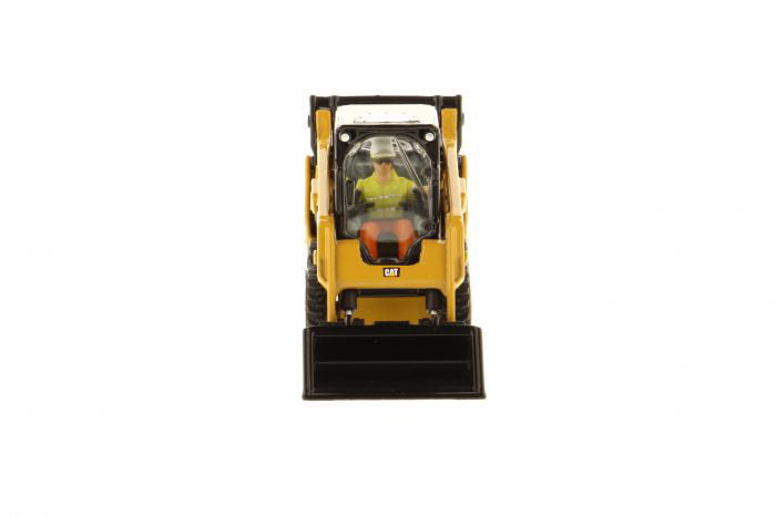 Caterpillar CAT 242D Compact Skid Steer Loader w/ Operator & Tools High Line Series 1:50 Scale Model - Diecast Masters - 85525