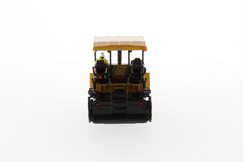 "Caterpillar CAT AP655F Tracked Asphalt Paver with Operator ""High Line Series"" 1:50 Scale Model - Diecast Masters - 85590"