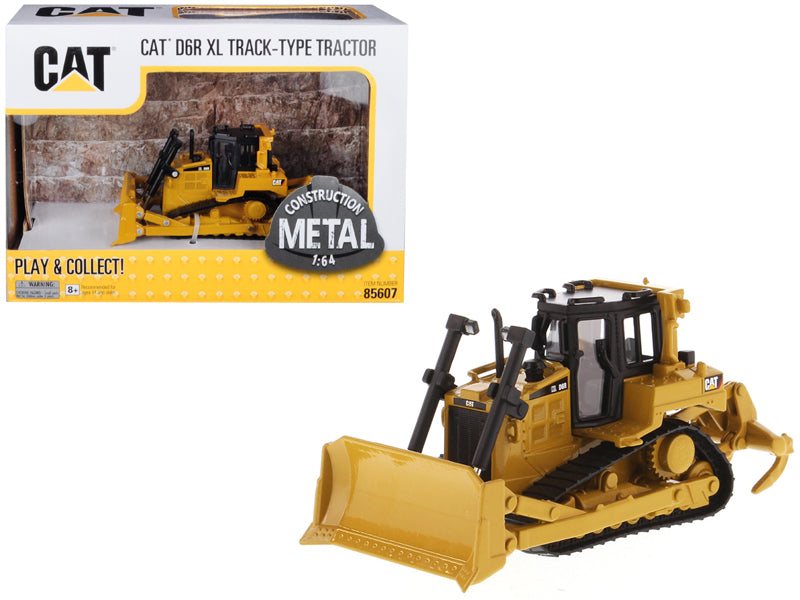 Caterpillar Cat D6R Track-Type Tractor 1:64 Scale Model - Diecast Masters - 85607