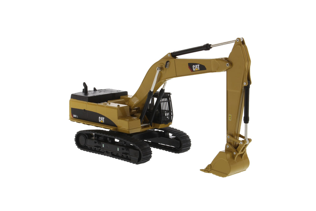 "Caterpillar CAT 385C L Hydraulic Tracked Excavator ""Play & Collect!"" Series 1/64 Diecast Model - Diecast Masters - 85614"