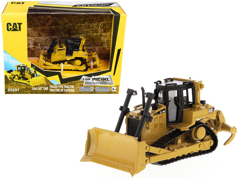 CAT D6R Track-Type Tractor 1:64 Scale Model - Diecast Masters - 85691