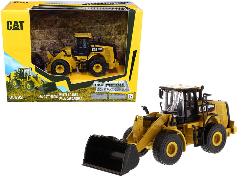 "CAT Caterpillar 950M Wheel Loader ""Play & Collect!"" Series 1:64 Diecast Model - Diecast Masters - 85692"