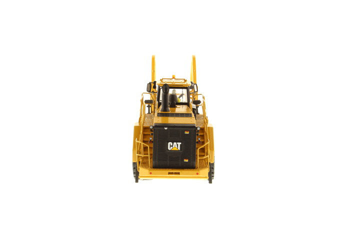 "Caterpillar CAT 988K Wheel Loader w/ Grapple w/ Operator ""High Line Series"" 1:50 Scale Model - Diecast Masters - 85917"