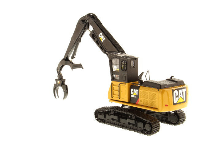 "Caterpillar CAT 568 LL Log Loader w/ Operator ""High Line Series"" 1:50 Scale Model - Diecast Masters - 85922"