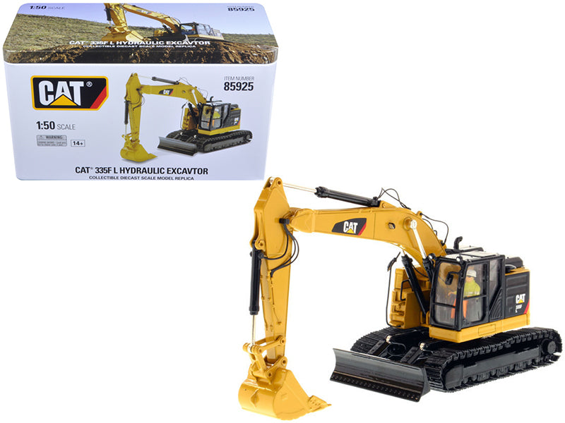 "Caterpillar CAT 335F LCR w/ Operator ""High Line Series"" 1:50 Scale Model - Diecast Masters - 85925"