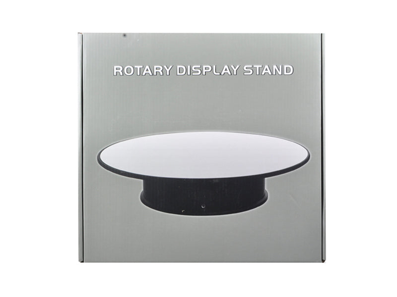 "Rotary Display Stand 12"" For 1/18 1/24 1/64 1/43 Model Cars With Mirror Top - 88012"