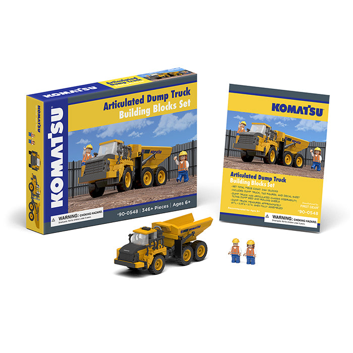 Komatsu Articulated Dump Building Blocks Set - First Gear - 90-0548