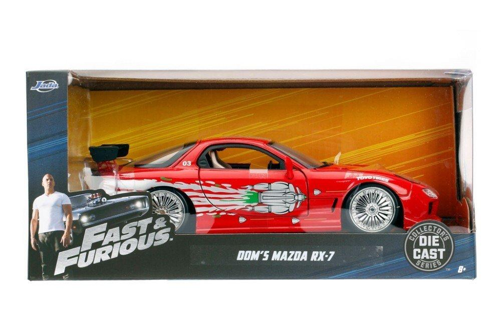 1993 Mazda RX-7 Dom's Fast and Furious Movie 1:24 Diecast - 98338