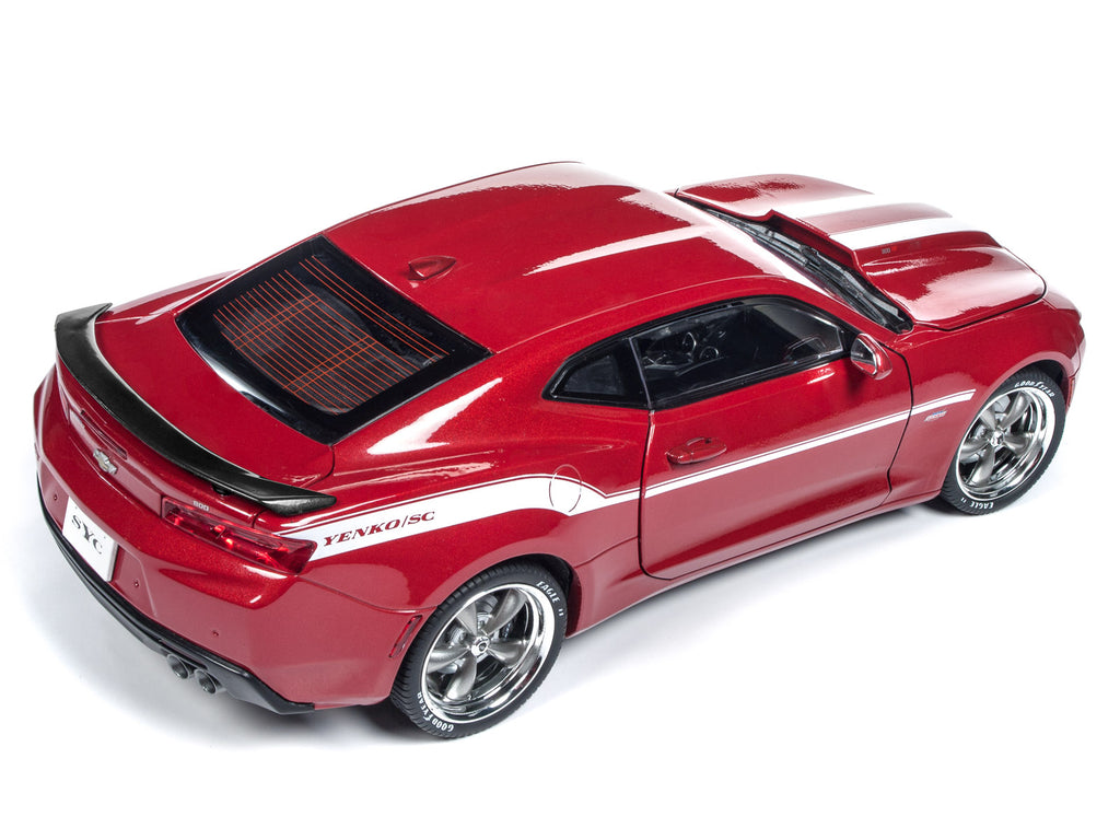 2017 Chevrolet Camaro Yenko Coupe Red 1:18 Diecast Model Car - Autoworld - AW246