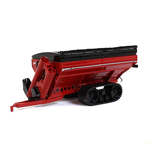 Brent Avalanche 1196 Red Grain Cart on Tracks 1/64 Scale Diecast- Speccast - Cust1209