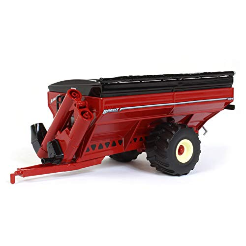 Brent Avalanche 1196 Grain Cart w/ Flotation Tires Red 1:64 Scale Diecast Model - Speccast - CUST1286