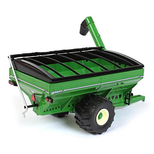Brent Avalanche 1196 Grain Cart w/ Flotation Tires Green 1:64 Scale Diecast Model - Speccast - CUST1287