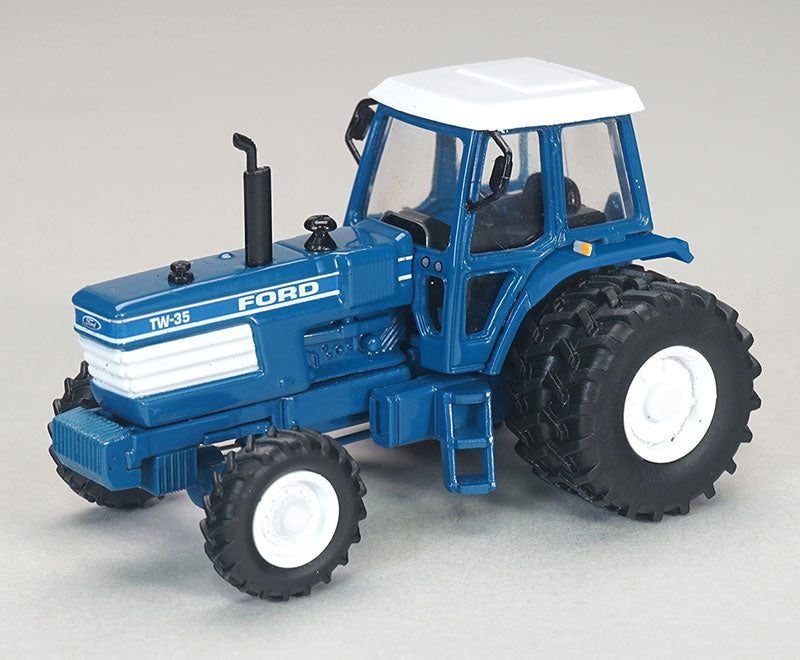 Ford TW 35 Front Wheel Assist Tractor with Duals 1:64 Diecast Model - SpecCast - CUST1945