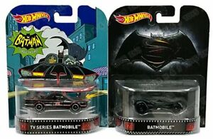Retro Entertainment Batman Classic TV & Justice League Batmobile 1:64 Scale - Hotwheels - FVD03-956A