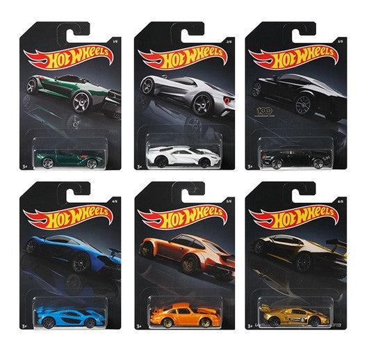 Walmart Exclusive Exotics Sealed Case of 10 1/64 Diecast Cars - Hot Wheels - GDG44-999H