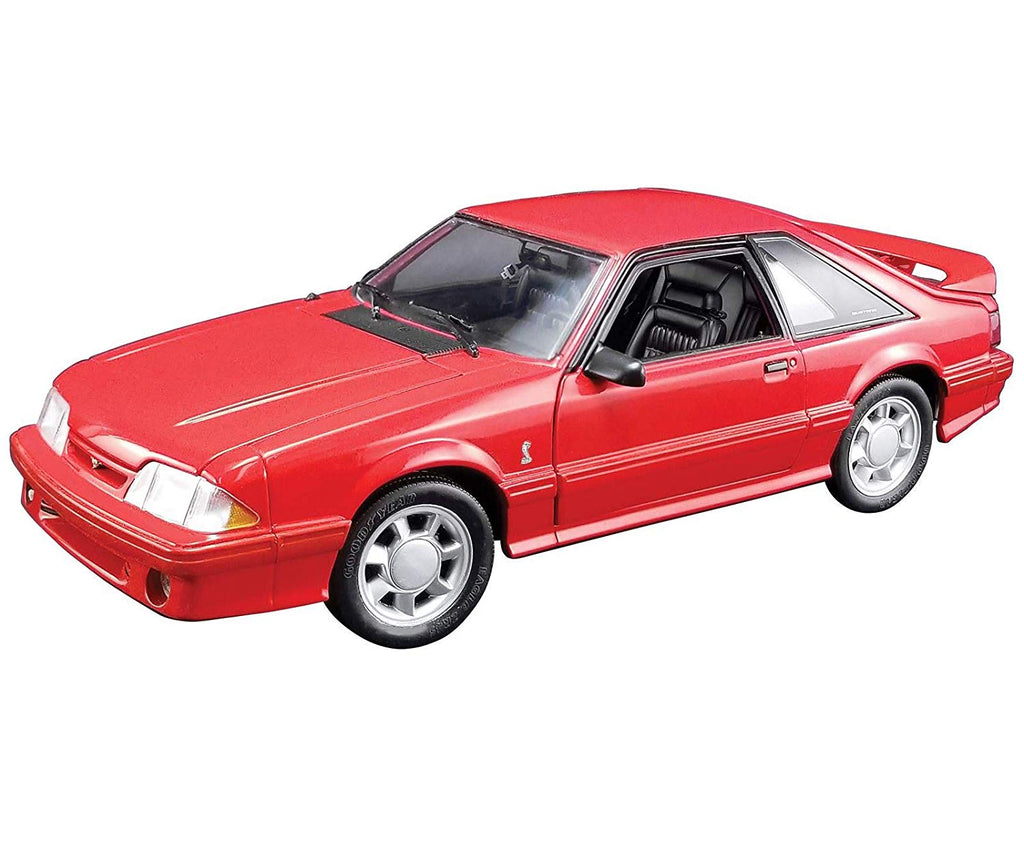 1993 Ford Mustang Cobra 1/18 Scale Diecast Model Red - GMP - 18922
