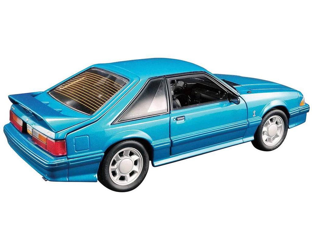 1993 Ford Mustang Cobra 1/18 Scale Diecast Model Teal Blue - GMP - 18923