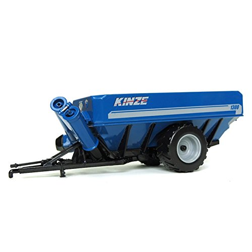 Kinze 1300 Row Crop Grain Cart 1/64 Scale - Spec Cast - GPR1314