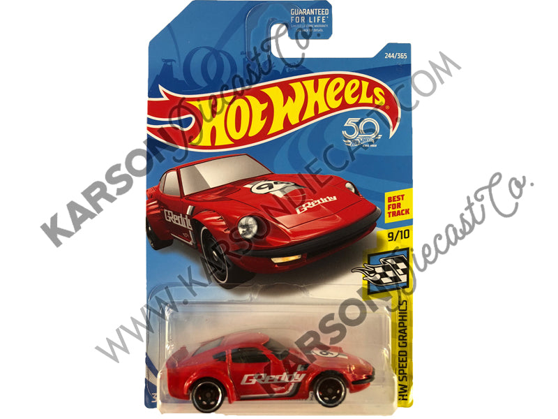 Nissan Fairlady Z 50th Anniversary Speed Graphics - Hot Wheels - L2593-982M